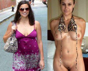 Angezogen Und Nackt Exposed Ex Wife Sexy Amateur