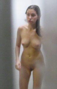 Dusche Voyeur Umkleidekabine Foto
