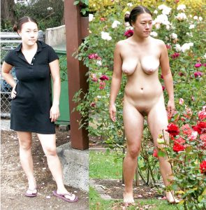 Asiatin Nackt Oeffentlich Exposed Amateur Nacktfoto Ehefrau
