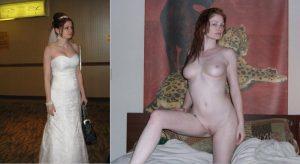 Hochzeitsfotos Nackt