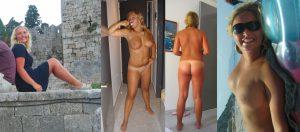 Mehrere Fotos Von Nackter Exfreundin