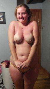 Schuchtern Busen Foto Freundin Nackt