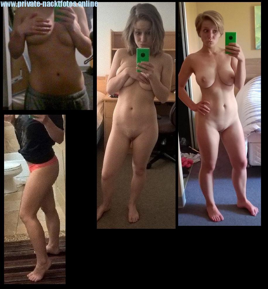 Nackt spiegel mädchen vor dem Heisses, Achtzehnjähriges
