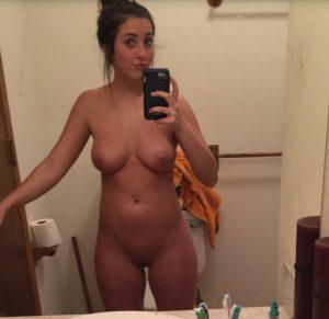 Selfie Spiegel Nackt Sexy Teen