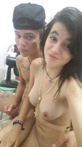 Amateur Paar Nackt Selfie