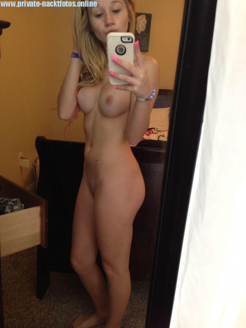 Private selfie videos