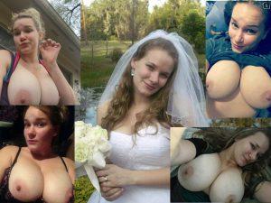Dicke Titten Teen Hochzeitsfoto