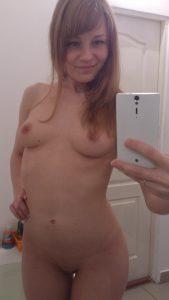 Frau Nacktfoto Mit Handy