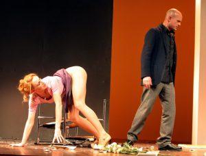 Theater Schauspiel Nackt Arsch
