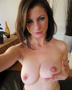 Verfuehrerisches Titten Selfie