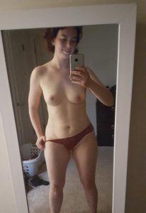 Spiegel Selfie Nur Im Strin