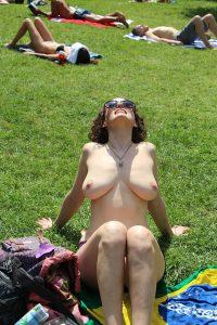 Topless Oben Ohne Fkk Sonnebad