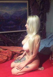 Tattoo Auf Bein Nacktfoto