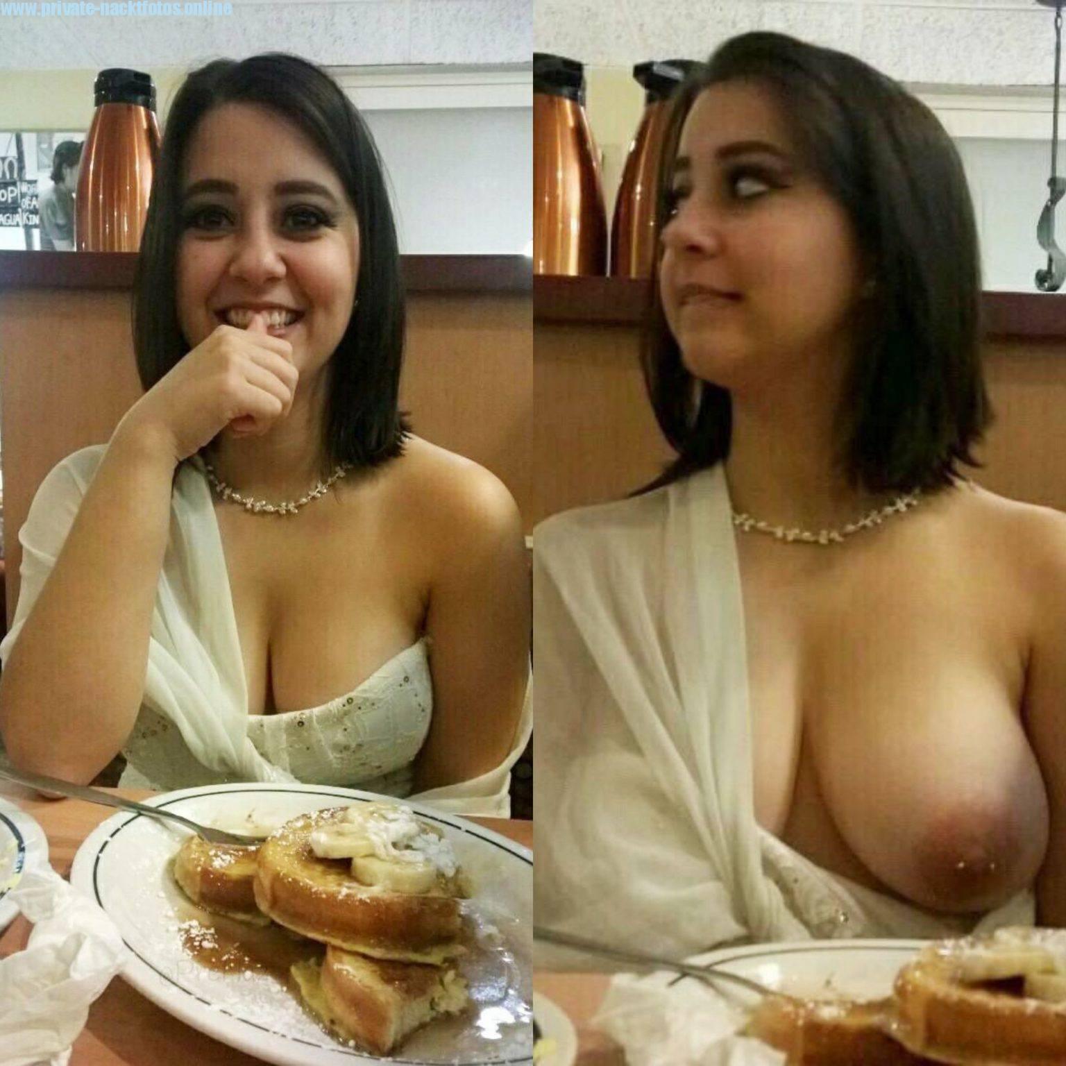 Ehefrau Zeigt Oeffentlich Ihre Titten